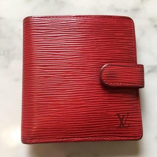 ルイヴィトン(LOUIS VUITTON)のLOUIS VUITTON エピ 二つ折り財布(財布)