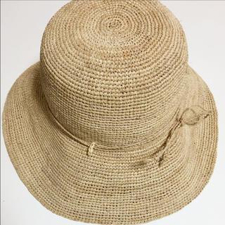 ムジルシリョウヒン(MUJI (無印良品))の無印良品 ラフィア 畳めるキャペリン(麦わら帽子/ストローハット)