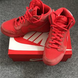 """new product 969ee 95f42 ナイキ(NIKE)のNIKE DUNK CMFT PRM """"RED OCTOBER(スニーカー)"""