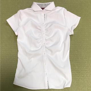TAKAQで購入 半袖ブラウス Mサイズ ジャスグリ アプワイザー