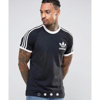 adidas - 新品 ブラック Lサイズ adidas★ カリフォルニアTシャツ ユニセックス