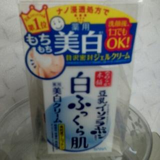 サナトリウム(SANATORIUM)のもちもち薬用美白クリーム(新品未使用)医薬部外品 週末値引き致しました(美容液)