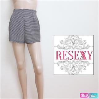 RESEXXY - リゼクシー❤美脚 小尻 ボーダーショートパンツ リップサービス ダチュラ エモダ