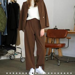トゥデイフル(TODAYFUL)のtodayful / tuck trousers(バギーパンツ)