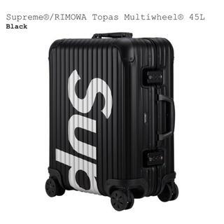 シュプリーム(Supreme)の45L Supreme RIMOWA Topas Multiwheel (トラベルバッグ/スーツケース)