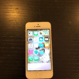 アイフォーン(iPhone)の中古 I phone5 softbank(SIMフリーではない)(スマートフォン本体)