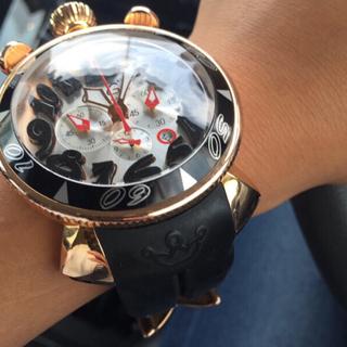 ガガミラノ(GaGa MILANO)の【✨希少モデル】ガガミラノ クロノ48mm 革ベルト付き(腕時計(アナログ))