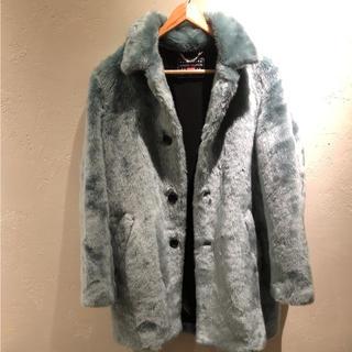 シュプリーム(Supreme)のSupreme×Hysteric Glamour Fox Fur Coat(トレンチコート)