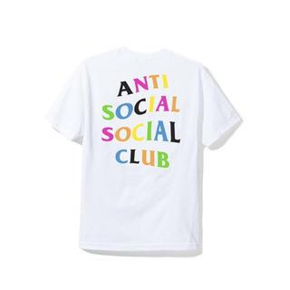 アンチ(ANTI)のASSC アンチソーシャルソーシャルクラブ Tシャツ M レインボー(Tシャツ/カットソー(半袖/袖なし))