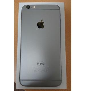 アイフォーン(iPhone)の美品! iphone6プラス 64G au(スマートフォン本体)
