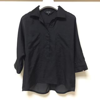 クードシャンス(COUP DE CHANCE)のC DE C トップス(シャツ/ブラウス(半袖/袖なし))