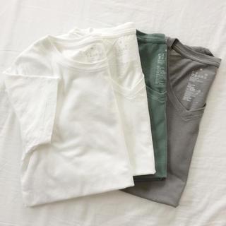 ムジルシリョウヒン(MUJI (無印良品))のオーガニックコットンTシャツ・4枚セット(Tシャツ(半袖/袖なし))