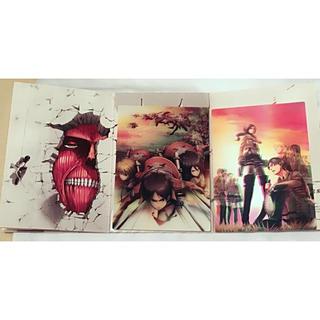 コウダンシャ(講談社)の「進撃の巨人 第11巻 特装版」3Dポストカード&シール(その他)