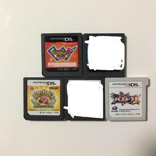 任天堂 - DSのソフト3個と3DSのソフト1個