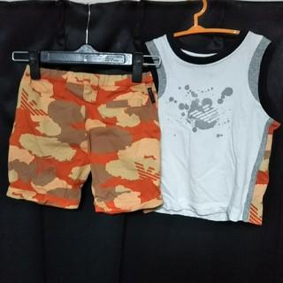 アルマーニ ジュニア(ARMANI JUNIOR)のアルマーニジュニア セットアップ(Tシャツ/カットソー)