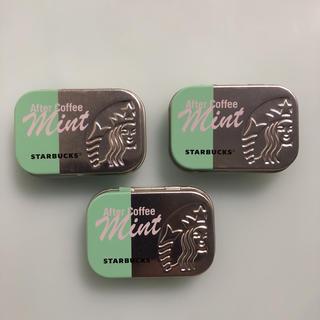 スターバックスコーヒー(Starbucks Coffee)のスターバックスアフターコーヒーミント3個セット(菓子/デザート)
