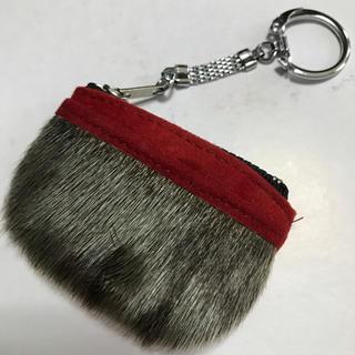 アザラシのキーホルダー付きコインケース(コインケース/小銭入れ)