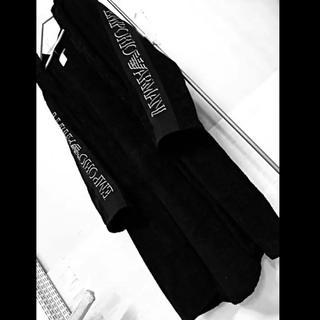 エンポリオアルマーニ(Emporio Armani)の【EMPORIO ARMANI】バスローブ ブラック(その他)