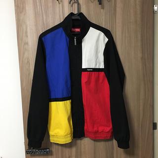シュプリーム(Supreme)のsupreme Color Blocked Track Jacket(ナイロンジャケット)