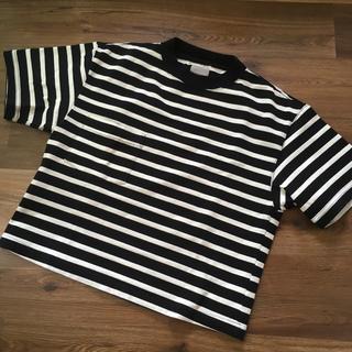 プラージュ(Plage)の美品☆Jane smith ボーダーポケT(Tシャツ(半袖/袖なし))