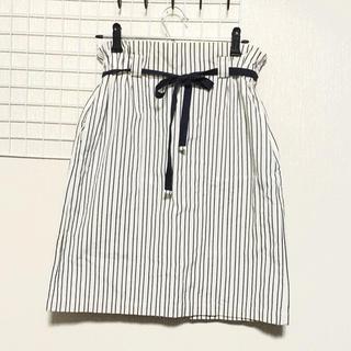 アデュートリステス(ADIEU TRISTESSE)のストライプスカート(ひざ丈スカート)