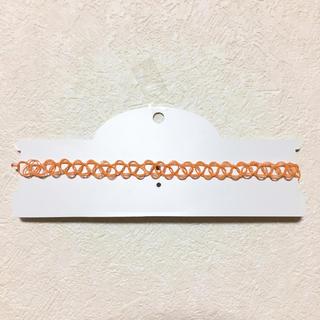SPINNS - チョーカー オレンジ