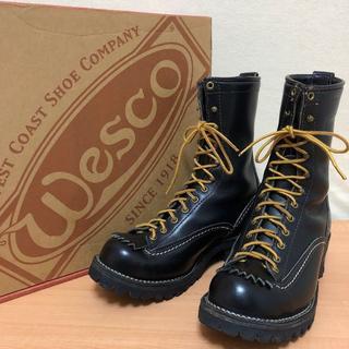 ウエスコ(Wesco)の【ウエスコ】ジョブマスター★美品★サイズ8D★WESCO(ブーツ)