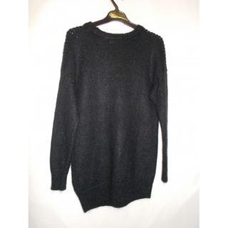 アクアガール(aquagirl)のアクアガール レディース セーター ブラック(ニット/セーター)