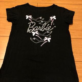 バービー(Barbie)の③Barbie 130 Tシャツ ブラック(Tシャツ/カットソー)