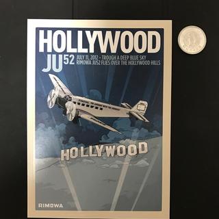 リモワ(RIMOWA)のリモワ ステッカー rimowa 純正  ハリウッド Hollywood (トラベルバッグ/スーツケース)