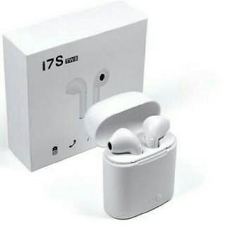 新品未使用 ワイヤレス イヤホン Bluetooth ホワイト(ヘッドフォン/イヤフォン)