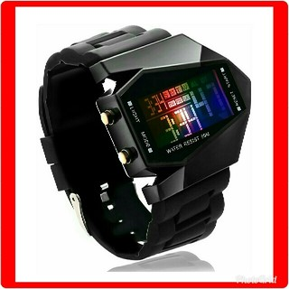 ★万能タイプ腕時計★男女兼用★デジタルウオッチ★選べる4色★(腕時計(デジタル))