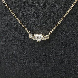 アーカー(AHKAH)のアーカー AHKAH ネックレス イエローゴールド K18YG ダイヤモンド(ネックレス)