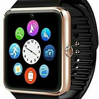 ゴールド スマートウォッチ Bluetooth ‼、(腕時計(デジタル))