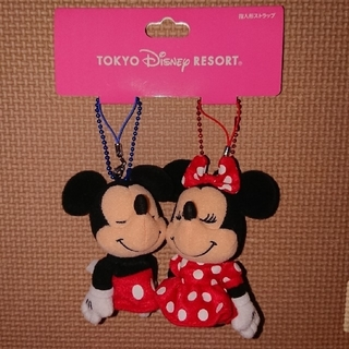 Disney - ディズニーストラップミッキー&ミニー