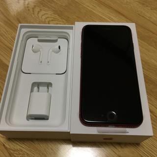 アイフォーン(iPhone)のSIMフリー 新品 未使用 docomo iPhone8 64gb レッド(スマートフォン本体)