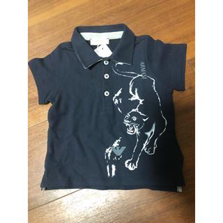 アルマーニ ジュニア(ARMANI JUNIOR)のARMANI baby新品未使用タグ付6M62cmポロシャツ!(シャツ/カットソー)