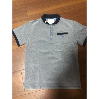 アルマーニ ジュニア(ARMANI JUNIOR)のARMANI JUNIOR新品未使用タグ付ポロシャツ6A120cm(Tシャツ/カットソー)