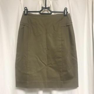 エストネーション(ESTNATION)のエストネーション 夏リネン混スカート(ひざ丈スカート)
