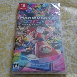 ニンテンドースイッチ(Nintendo Switch)の新品 Nintendo Switch マリオカート8 デラックス (家庭用ゲームソフト)