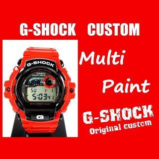 ジーショック(G-SHOCK)の★F6-2173【Gショック カスタム】GL-140 マルチペイント 1点物限定(腕時計(デジタル))