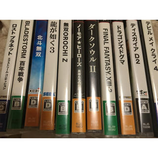 PS3ゲームソフト(家庭用ゲームソフト)