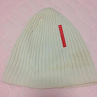 プラダ(PRADA)のPRADAニット帽(ニット帽/ビーニー)