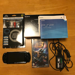 PSP 本体 ソフト(携帯用ゲーム本体)