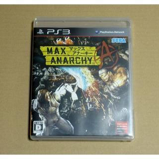 マックスアナーキー ps3(家庭用ゲームソフト)