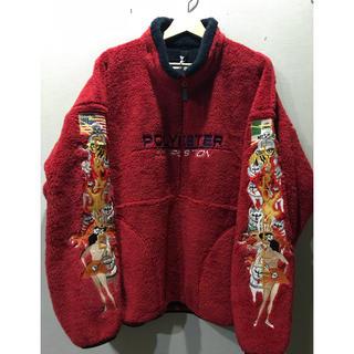 【即完売商品】【送料無料】doublet 18FW 刺繍 ジャケット フリース