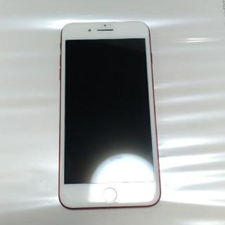 アイフォーン(iPhone)のdocomo iPhone7 Plus 128G RED(スマートフォン本体)