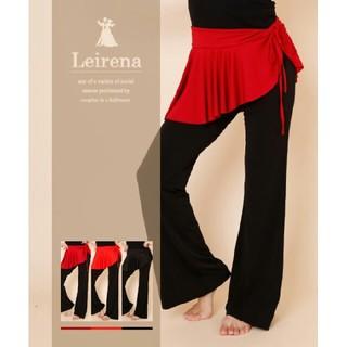 ベリーダンス ヒップスカーフ ダンス衣装 巻きスカート ラップスカート 赤(ダンス/バレエ)