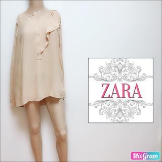 ZARA - ザラ ZARA❤体型カバー フリルブラウス❤Bershka H&M マウジー