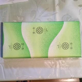 夏ものお濃茶ラングドシャ「涼茶の菓」10枚(菓子/デザート)